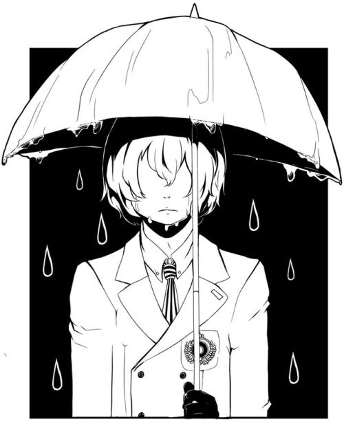 500x636 Umbrella Doodles Tumblr