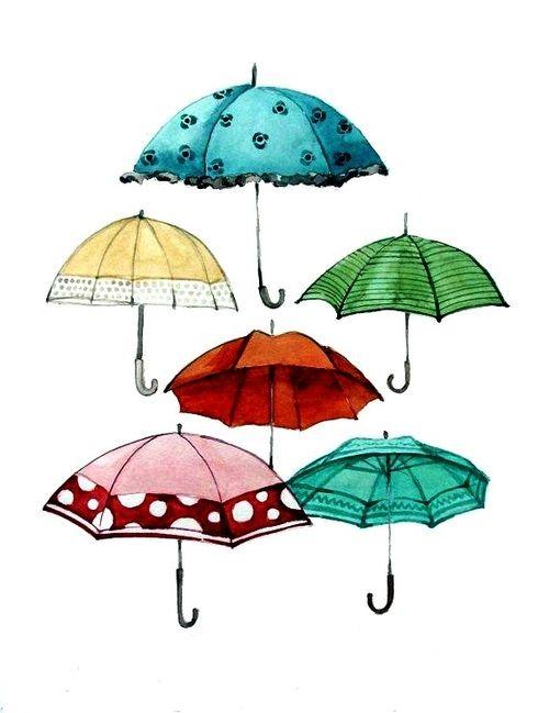 500x649 205 Best I Love Rainy Day Illustrations Images On Rain