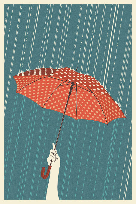 453x680 Collection Of Tumblr Umbrella Drawing High Quality, Free
