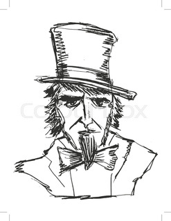 247x320 Uncle Sam. Serious Powerful Uncle Sam. Strong Uncle Sam Crossed