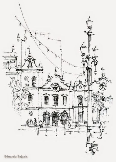 Urban Community Drawing