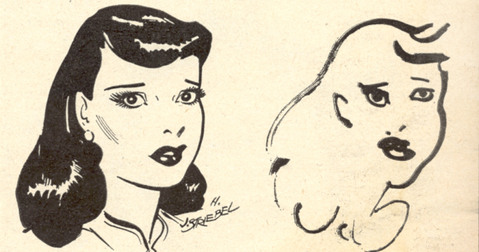 700x368 In 1947, Ten Comic Strip Artists Were Asked To Draw Their