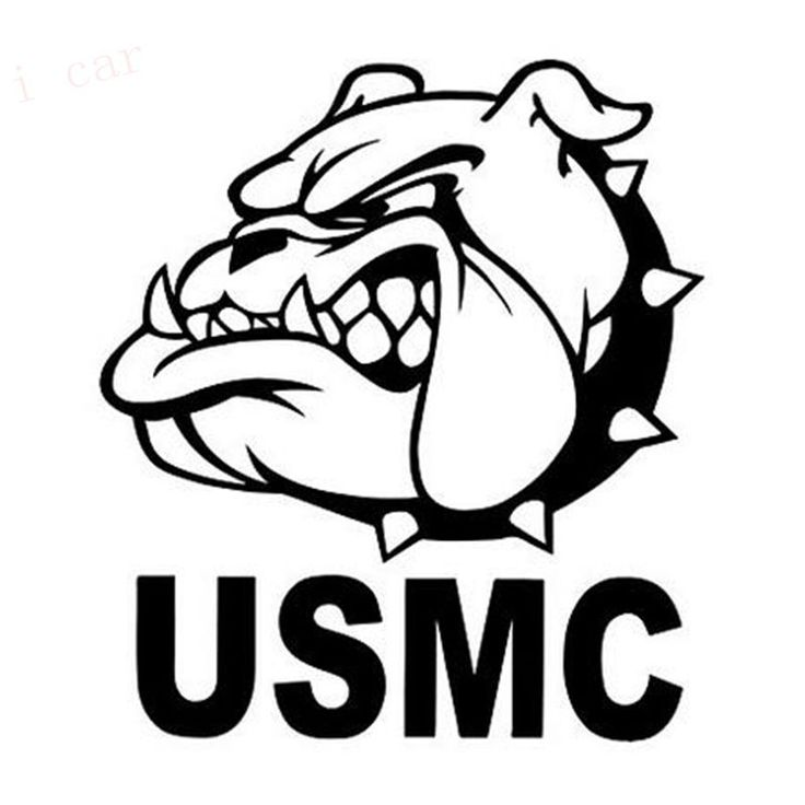 Usmc Devil Dog Drawing