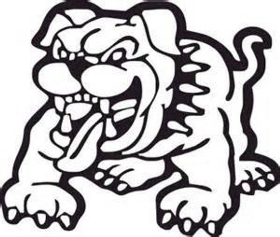 570x483 Bulldog Decals Vinyl Stickers Usmc Decal Usmc Devil Dog
