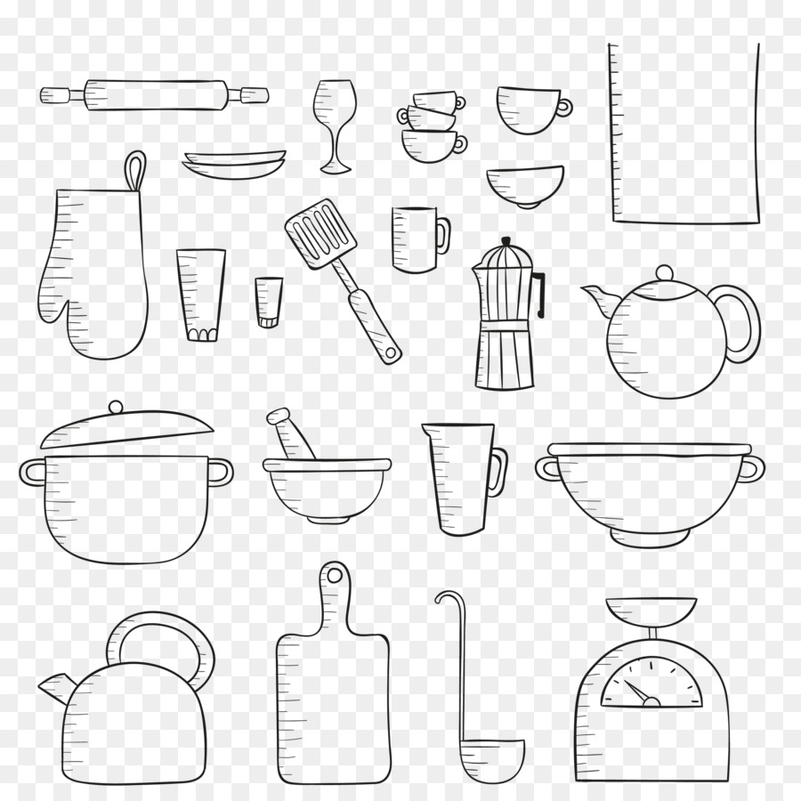 The Best Free Utensil Drawing Images Download From 70 Free