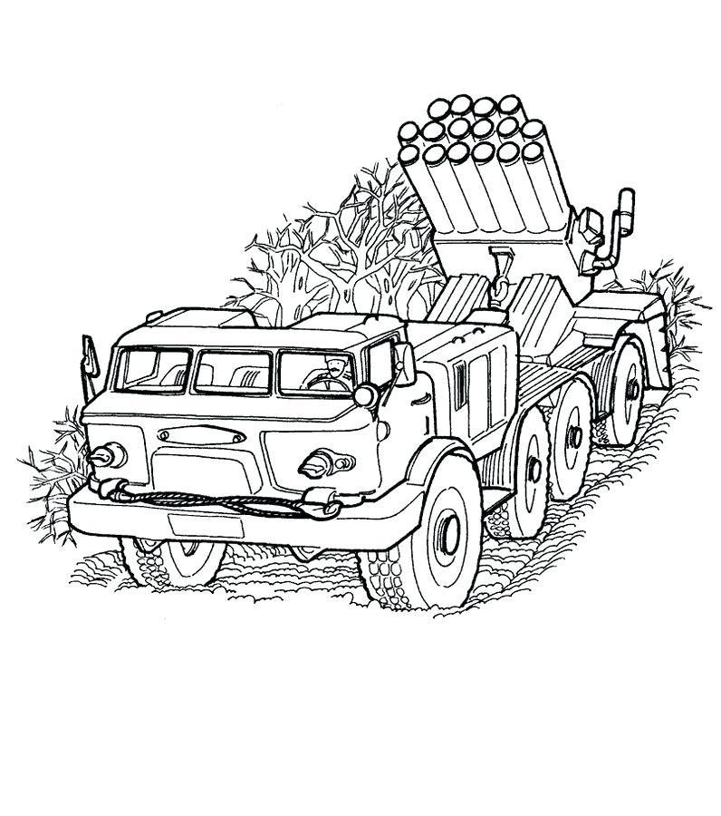 796x900 Army Truck Coloring Pages Trucks Transport Pertaining To Vehicles