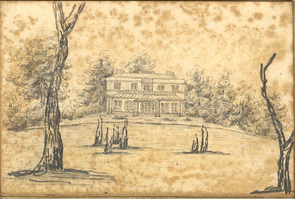 1023x691 Georgian House With Veranda
