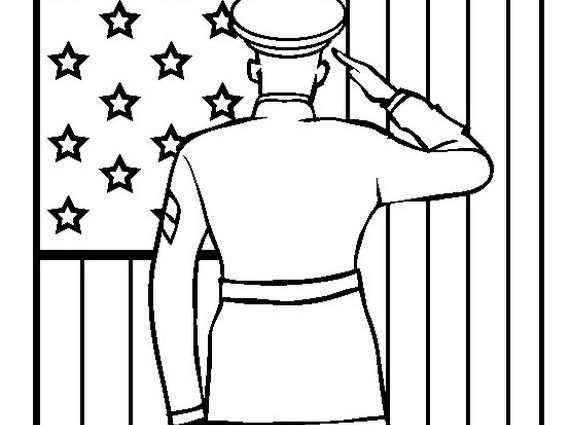 569x425 Patriotic Coloring Pages Free Remembrance Day Or Veterans Day