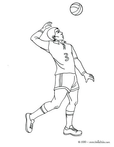 363x470 Coloring Pages Volleyball Coloring Pages Volleyball Girl