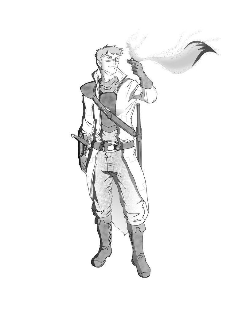 Warlock Drawing