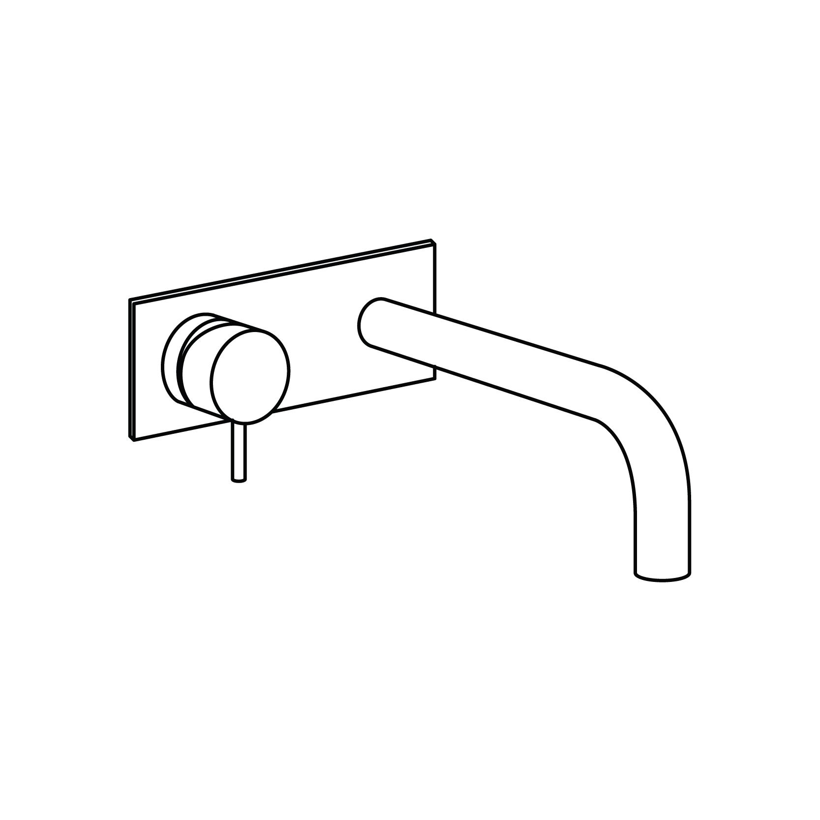 Wash Basin Drawing