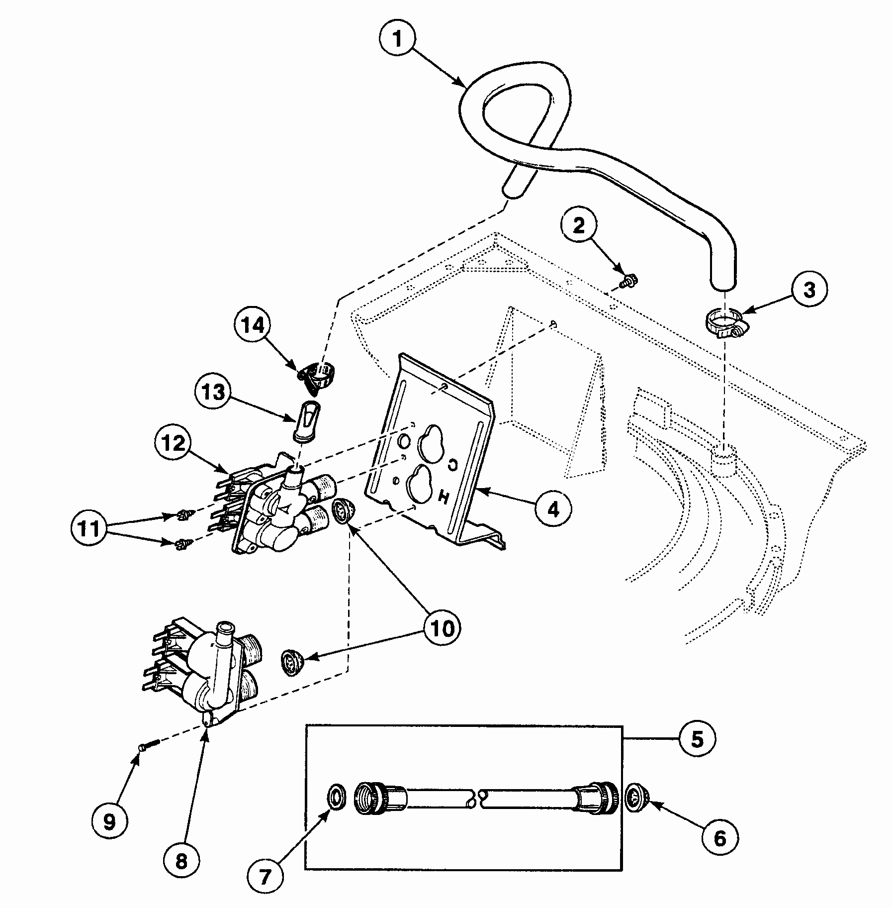Washer Drawing At Free For Personal Use Speed Queen Washing Machine Wiring Diagram 1796x1825 Parts Idsc2013