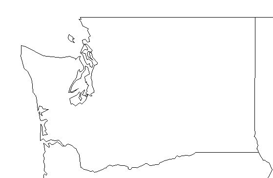 Washington State Drawing