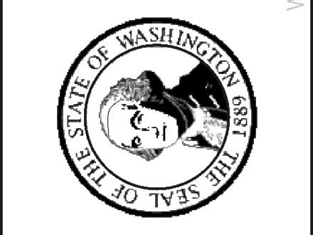 440x330 30 Washington State Flag Coloring Page, Washington State Map