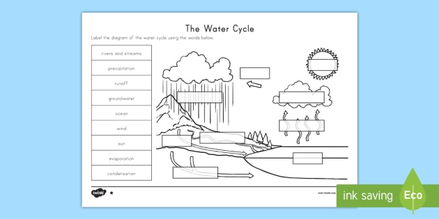 Water Cycle Drawing Assignment At Getdrawings Free For