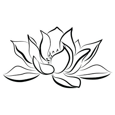 384x384 Waterlily Drawings Water Lily Line Drawing Water Lily Drawing