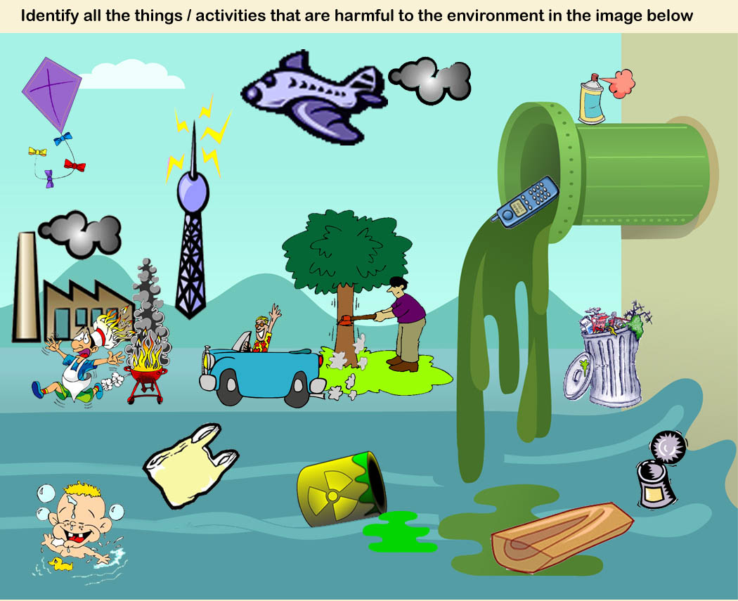 1050x855 Air Pollution Drawing For Kids Water Pollution For Kids Clipart