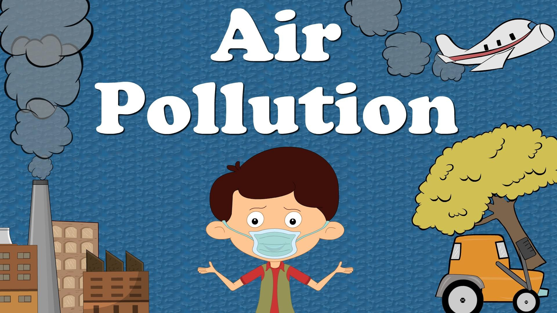 1920x1080 Drawing Water Pollution In Very Simple Air Pollution For Kids