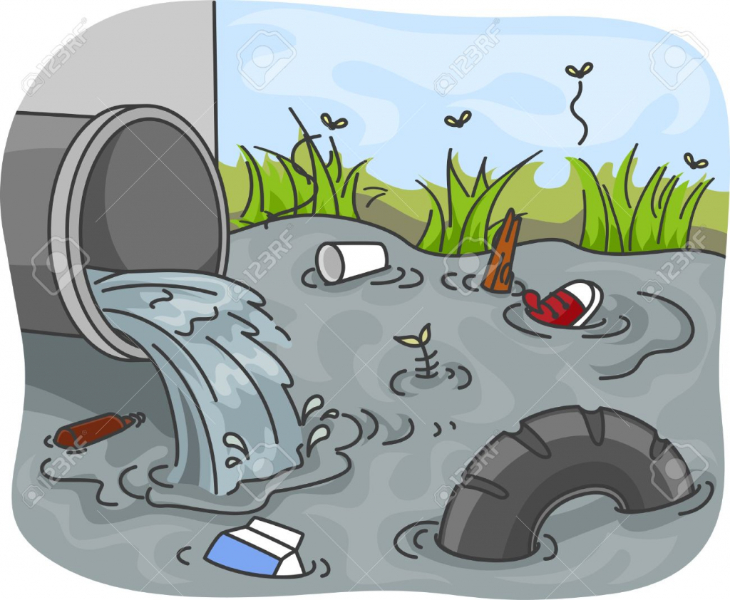 Water Pollution Drawing For Kids at GetDrawings.com | Free ...