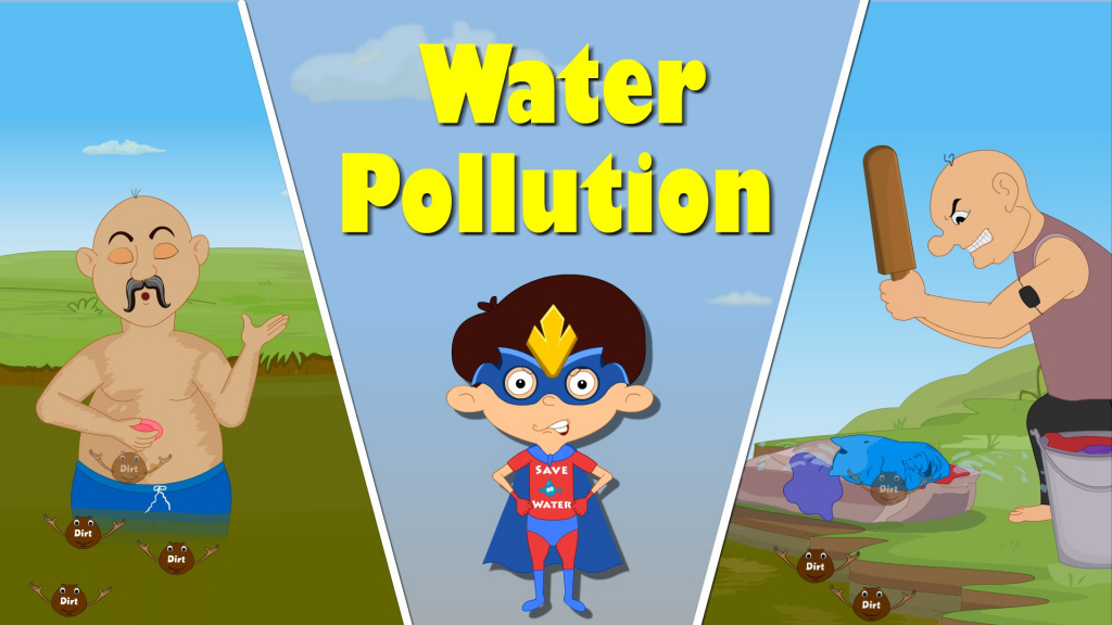 1024x576 Simple Drawing Of Water Pollution Water Pollution For Kids