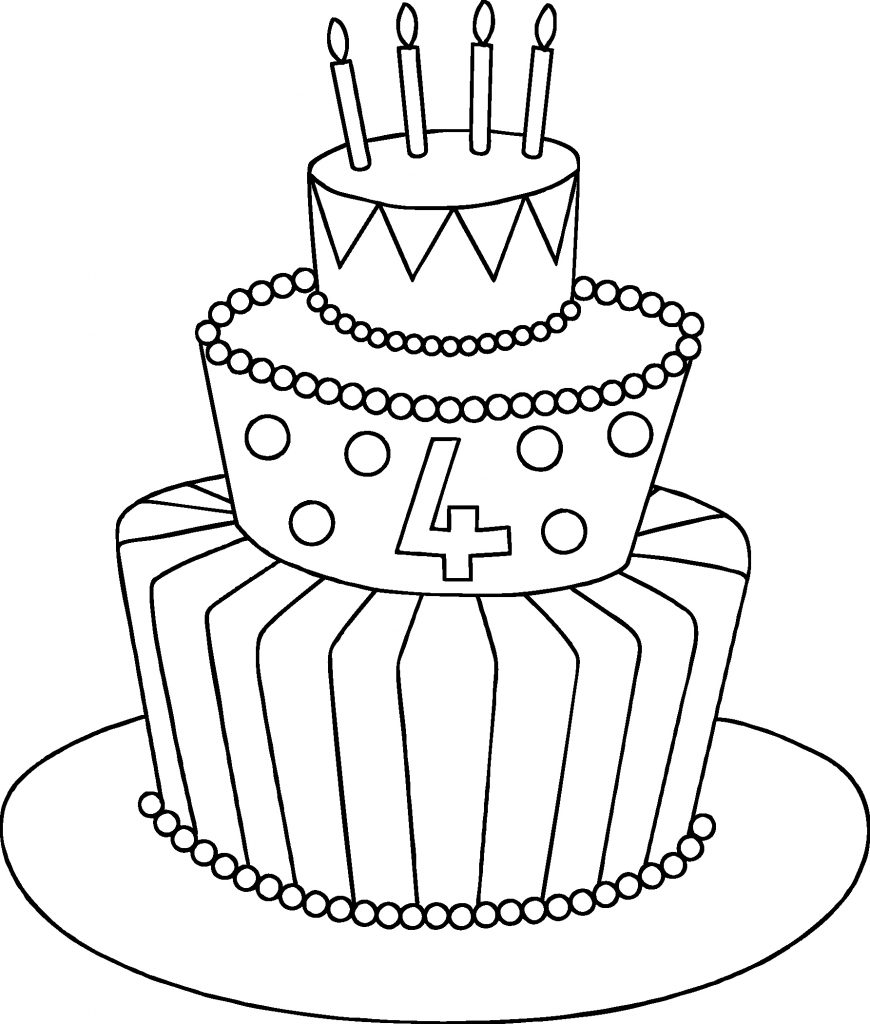 870x1024 Wedding Cake Clipart Drawing