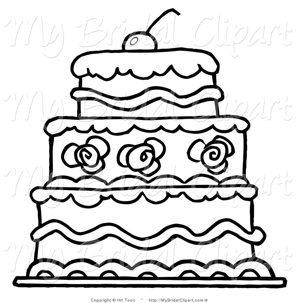 1024x1044 Black And White Wedding Cake Clip Art Clipart Panda Free