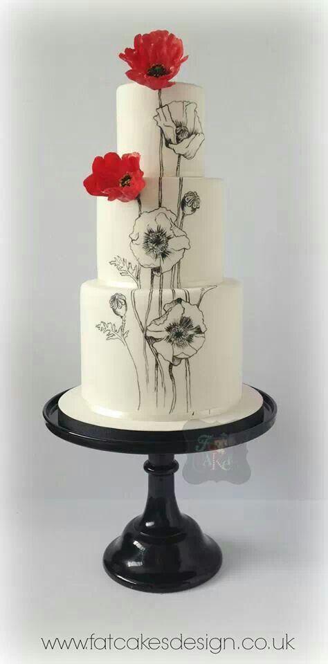 474x960 394 Best Cake Deco White, Black Amp Red Images By Hagar Khattab
