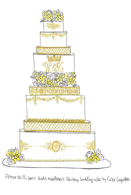 460x680 Sketches Of Wedding Cakes 99 Best Wedding Cakes Black And Black
