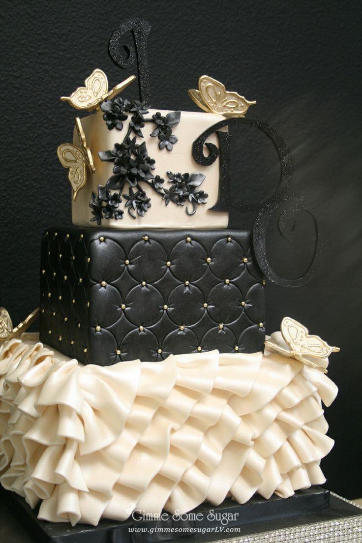 736x1104 Wedding Cakes Wedding Cake Black Gallery Best Weddings Wedding