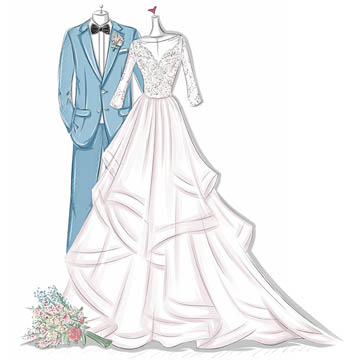 Wedding Dress Drawing Designs At Getdrawings Free For Personal