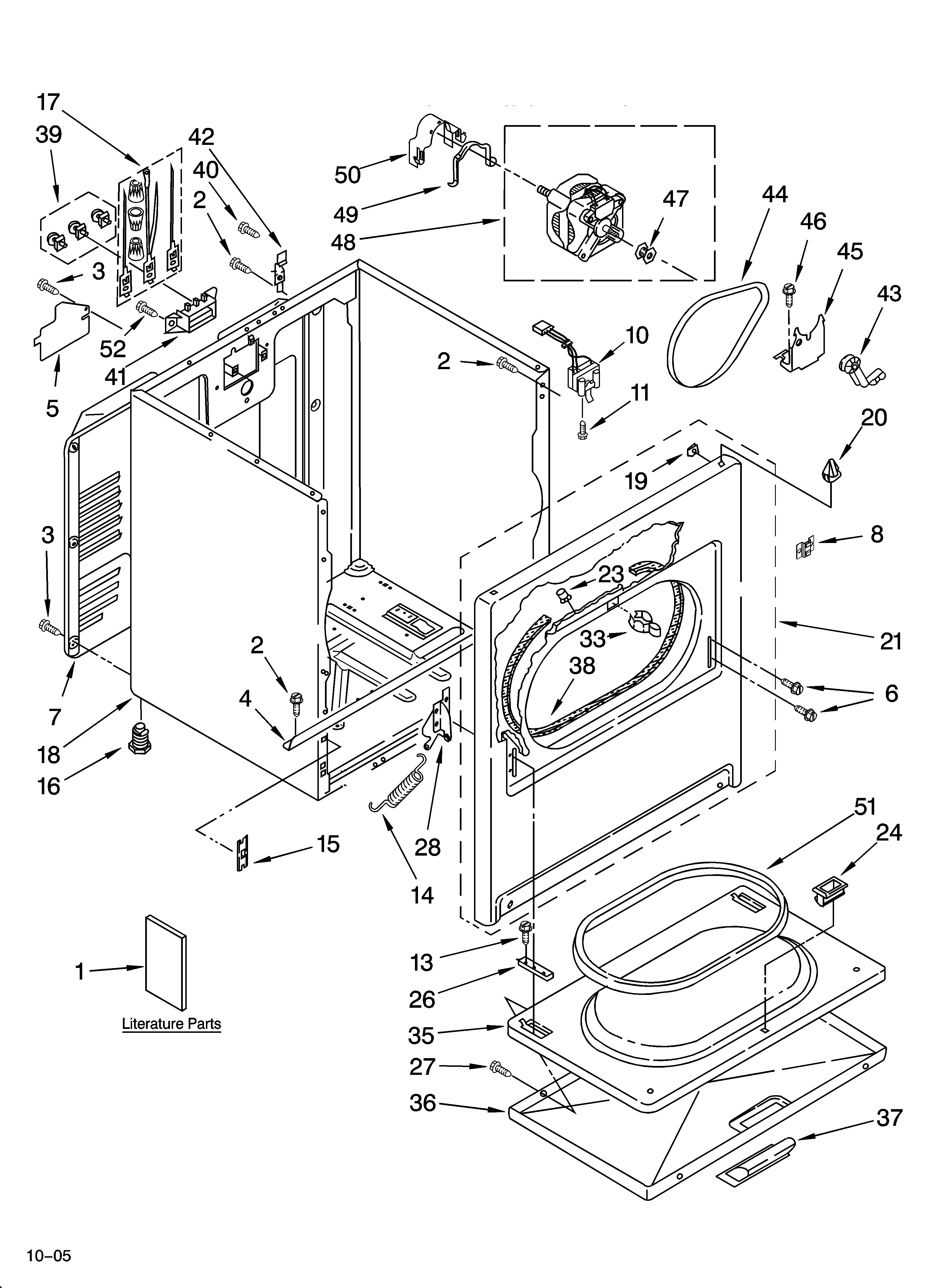 Whirlpool Drawing At Free For Personal Use Dryer Wiring Diagram Colored 3348x4623 Model Leq9508pw1 Residential Genuine Parts
