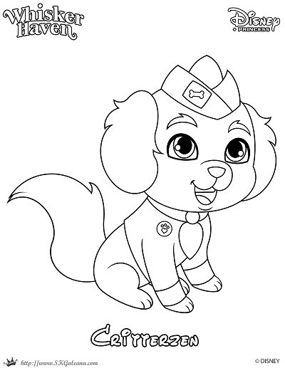 400x517 Whisker Haven Coloring Page Of A Critterzen Skgaleana