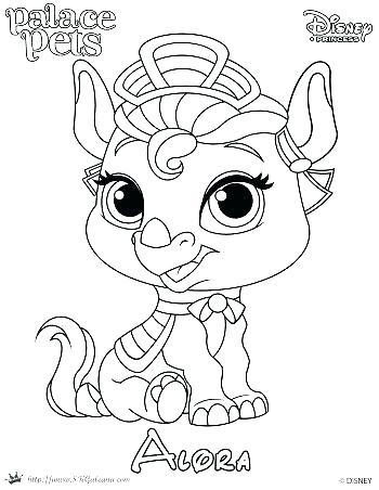 350x452 Whisker Haven Coloring Pages Princess Palace Pets Coloring Pages