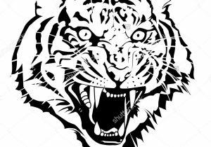300x210 Tiger Side Face Sketch Sketch Bengali Tiger Face Sketch