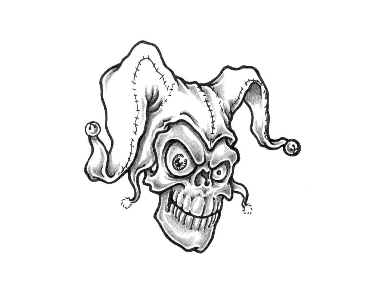 1280x960 Download Simple Joker Tattoo