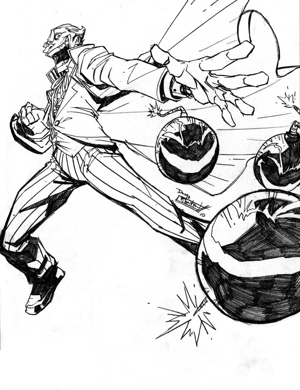 962x1250 Joker, In The Batfan's Joker Pieces Comic Art Gallery Room