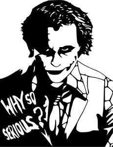 231x300 Joker Clipart Why So Serious