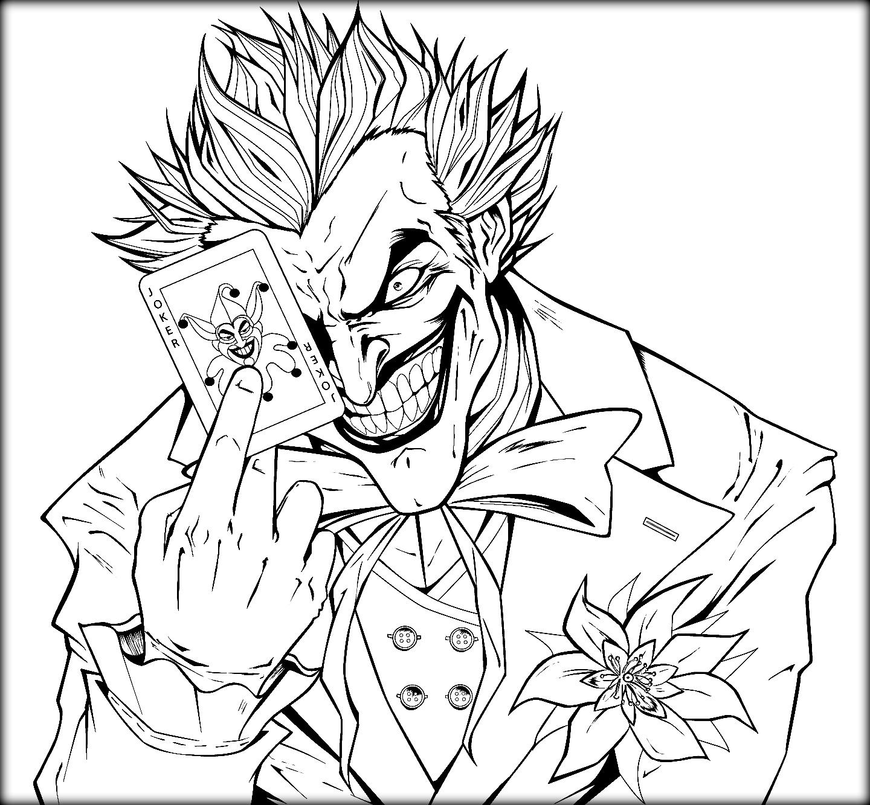 1440x1333 Joker Coloring  2405706