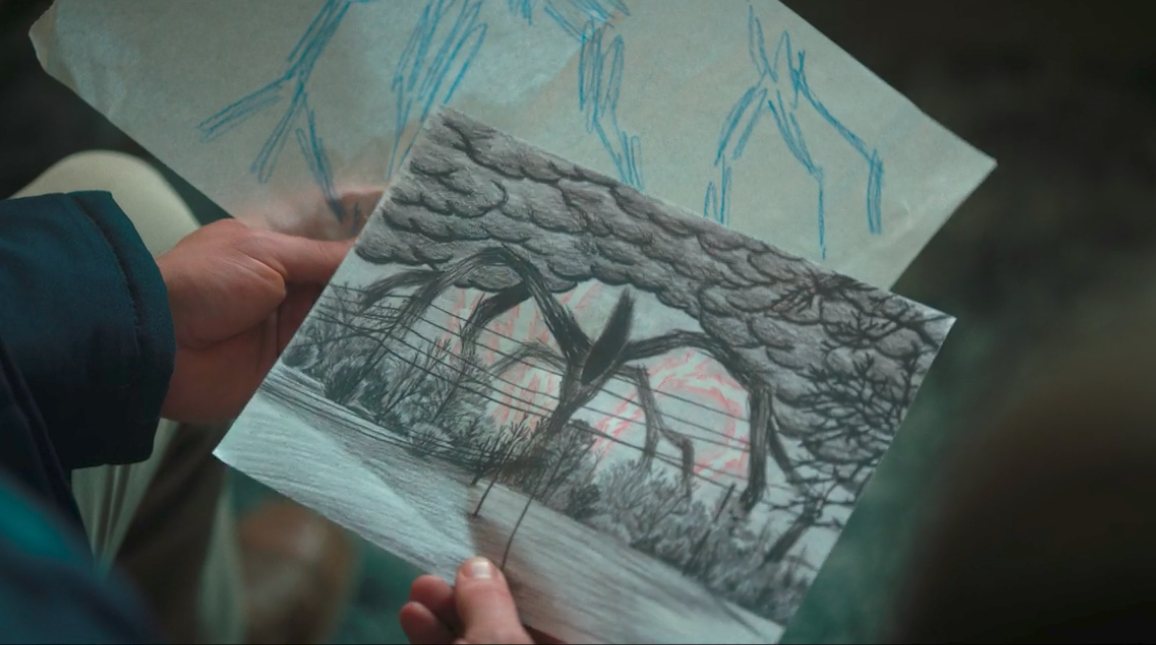 1156x645 Pictures Stranger Things Will Drawings,