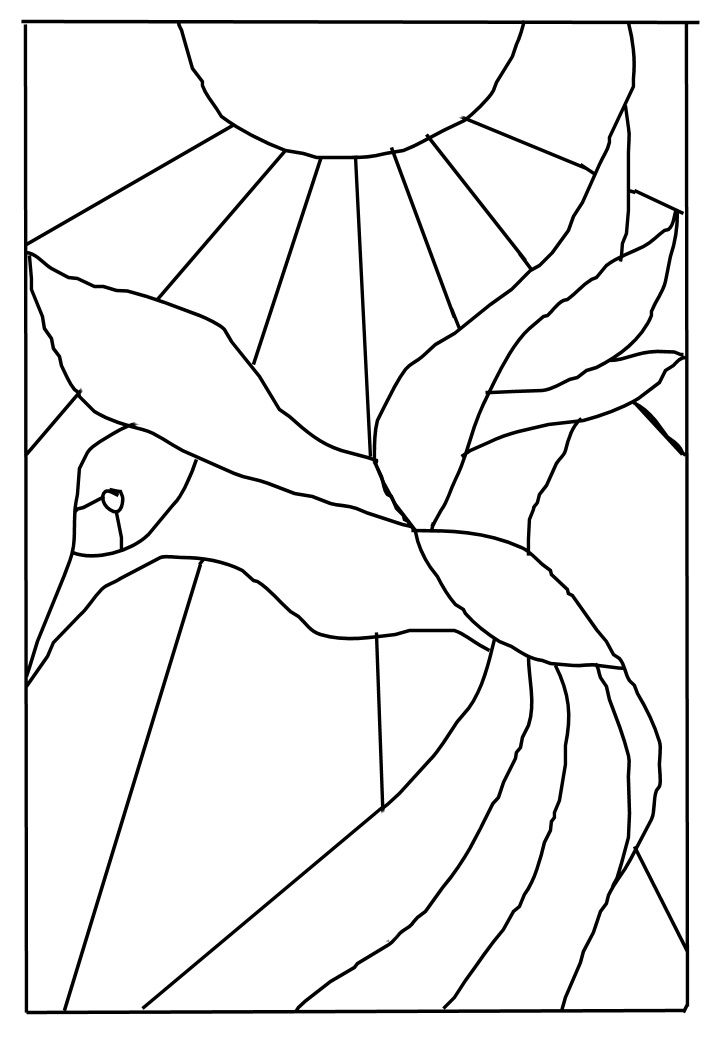 713x1038 74 Best Faux Stained Glass How To And Patterns Images