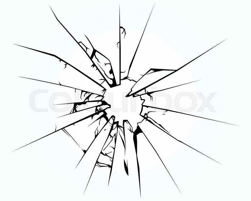 800x640 Broken Window Pane Or Glass Background Decorative Realistic