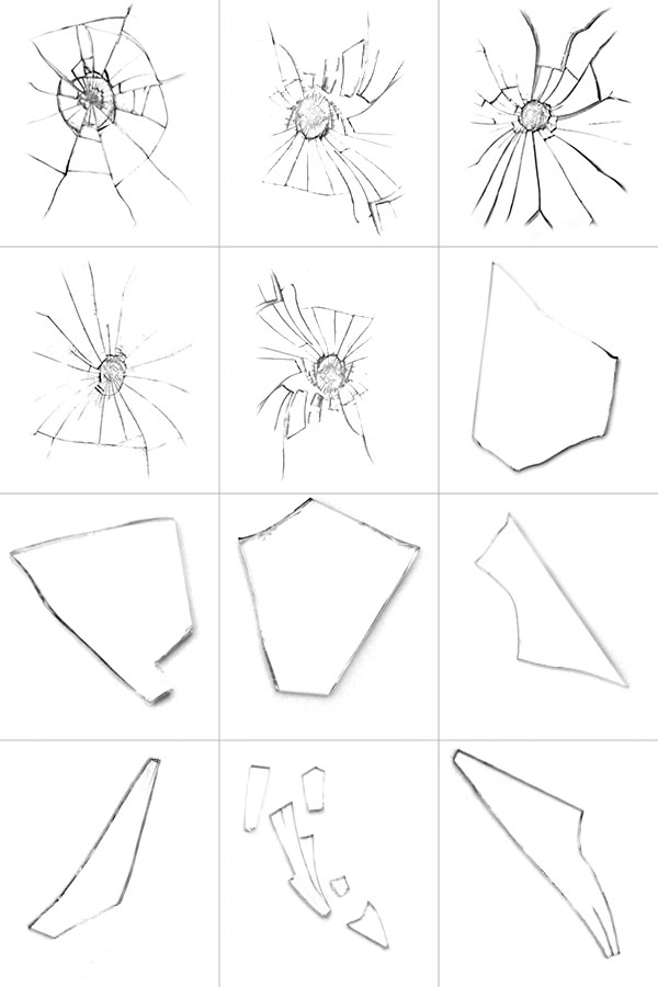 600x900 How To Create Custom Shattered Glass Brushes In Adobe Photoshop