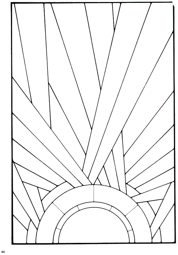 618x883 Stained Glass Window Coloring Pages And Stained Glass Coloring