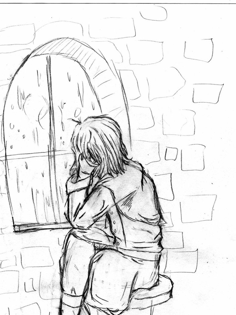 775x1031 Windowpane Sketch By The Phan