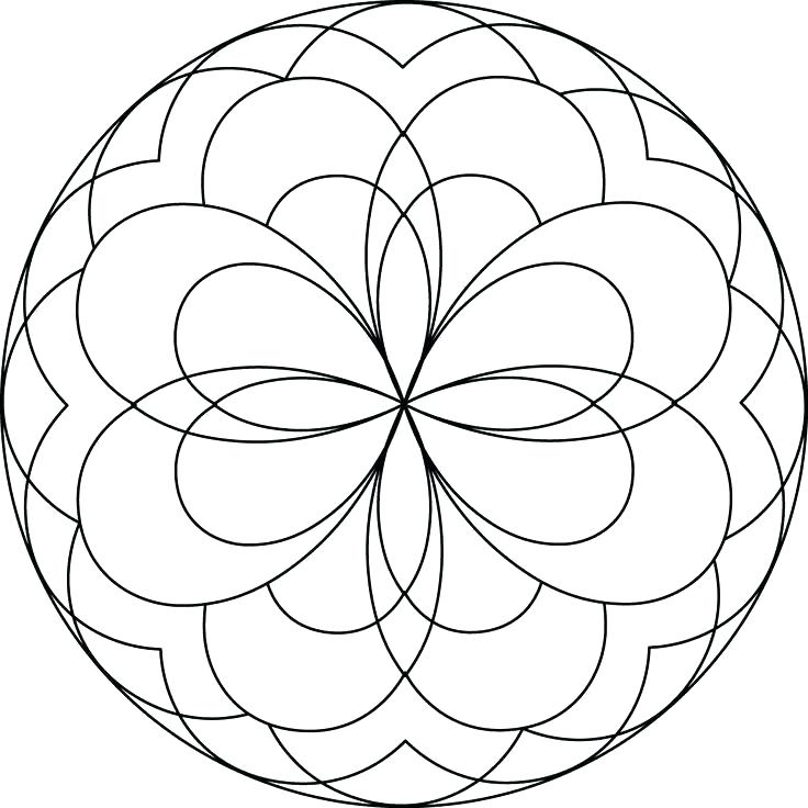 736x736 Window Coloring Page