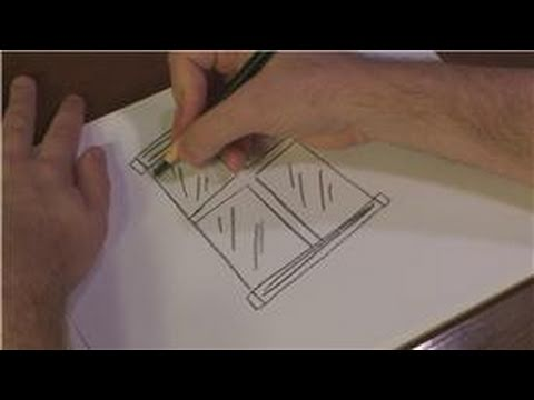 480x360 Drawing Techniques How To Draw A Glass Window