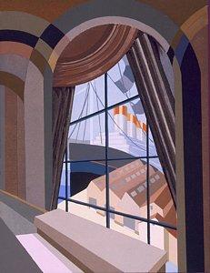 231x300 Window Pane Drawings Fine Art America