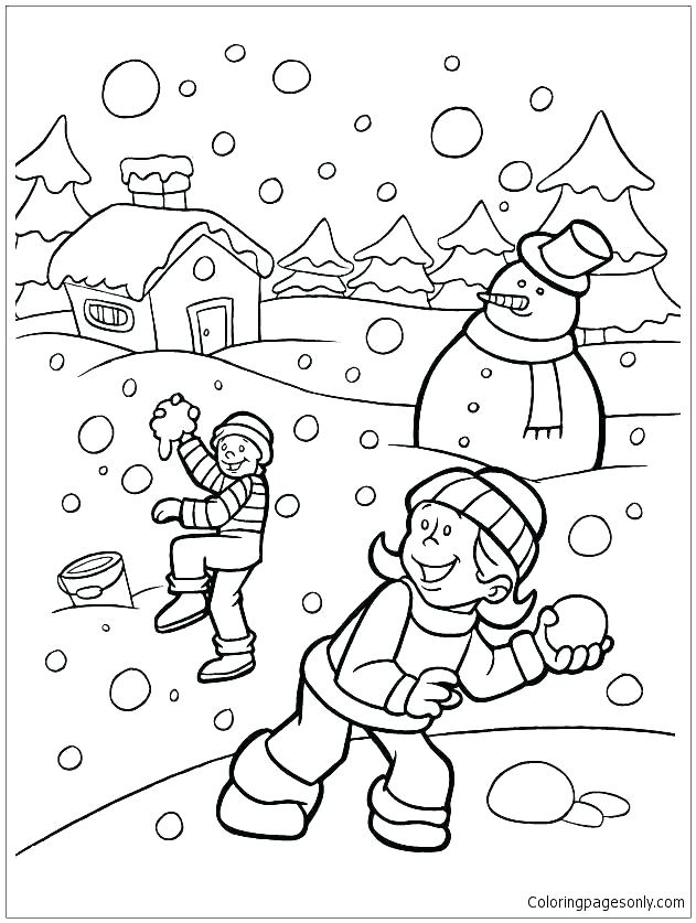 631x837 Winter Coloring Pages Free Free Coloring Pages Winter Winter