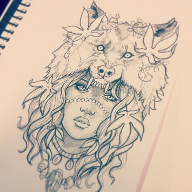 612x612 Pin By Rebekah Watt On Tat Tat Tat It Up Wolf