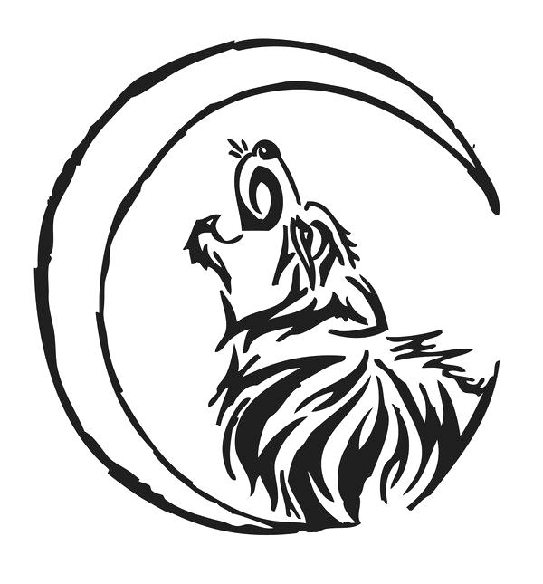 600x645 Howling Wolf Howling Wolf Drawing Free Collection Download Howling